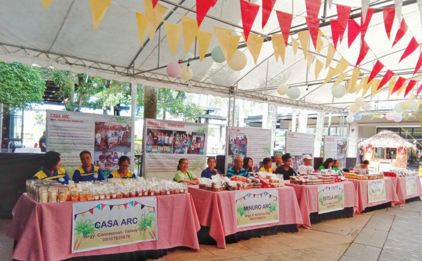 SIFI LIVELIHOOD EXPO AT THE DISTRICT NORTH POINT AYALA MALL, TALISAY