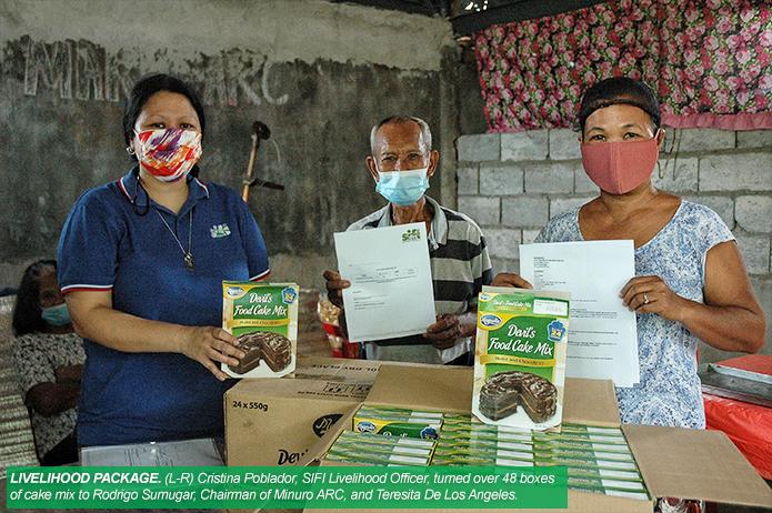 SIFI AND NVC PROVIDE LIVELIHOOD PACKAGE TO HACIENDA BAKERIES