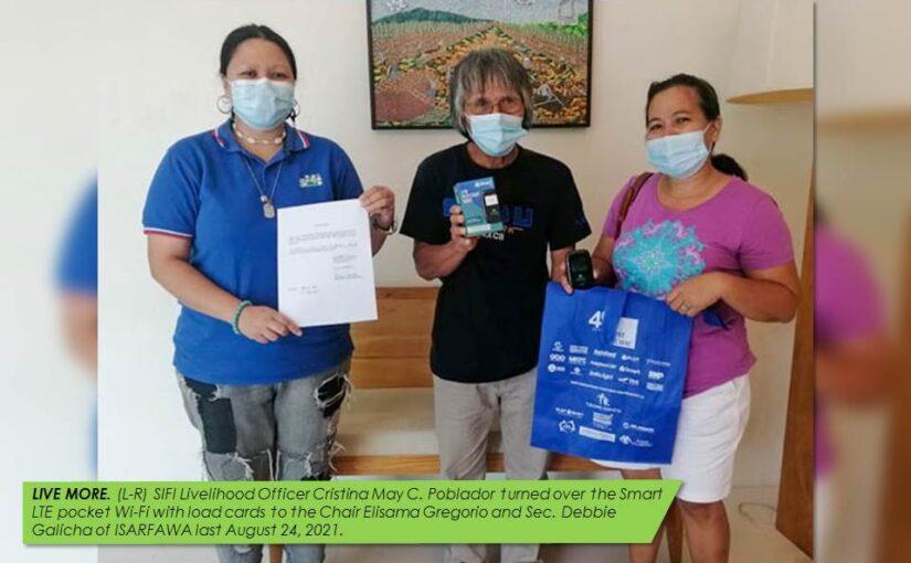 PBSP DONATES POCKET WIFI TO SIFI HACIENDA BAKERIES FOR DIGITAL SELLING